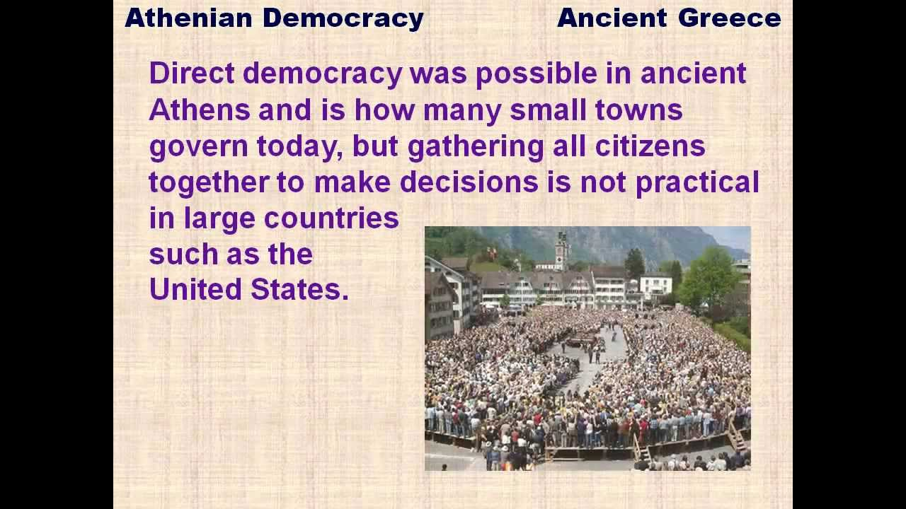 positives and negatives of ancient greek democracy Oligarchies presented a form of compromise for the ancient greeks between monarchy and democracy however, despite being a compromise, oligarchies.