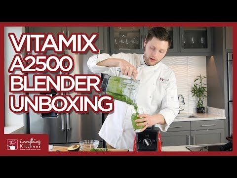 Vitamix Blender Ascent A2500 Unboxing & Test