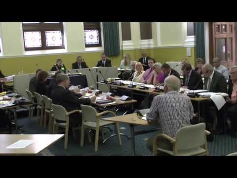 Eastbourne Borough Council Seafront Cycling Debate 2015 07 22