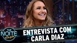 Entrevista com Carla Diaz | The Noite (19/07/17)