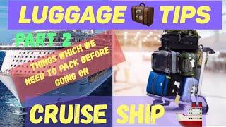 Luggage Part 2