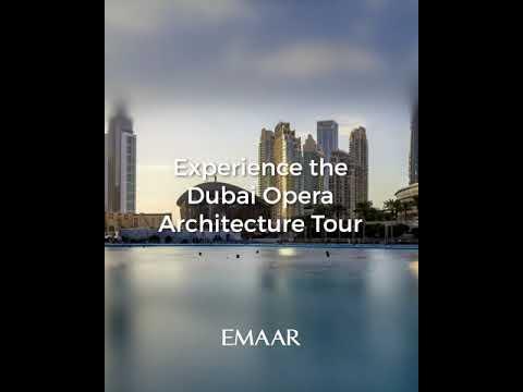Dubai Opera Architecture Tour