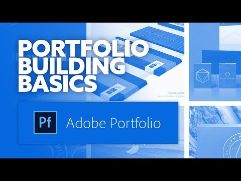 Building Your Online Design Portfolio - Using Adobe's Portfolio Builder!