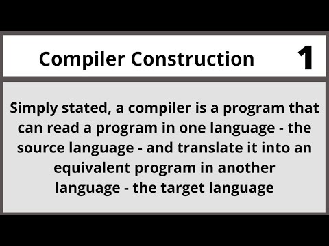 Compiler Construction in Urdu Hindi LECTURE 01