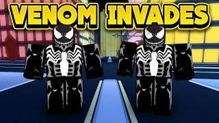 VENOM INVADES JAILBREAK! (ROBLOX Jailbreak)