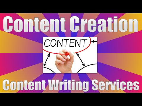 Content Creation - Content Writing Services