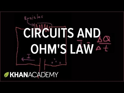Introduction to circuits and Ohms law | Circuits | Physics | Khan Academy