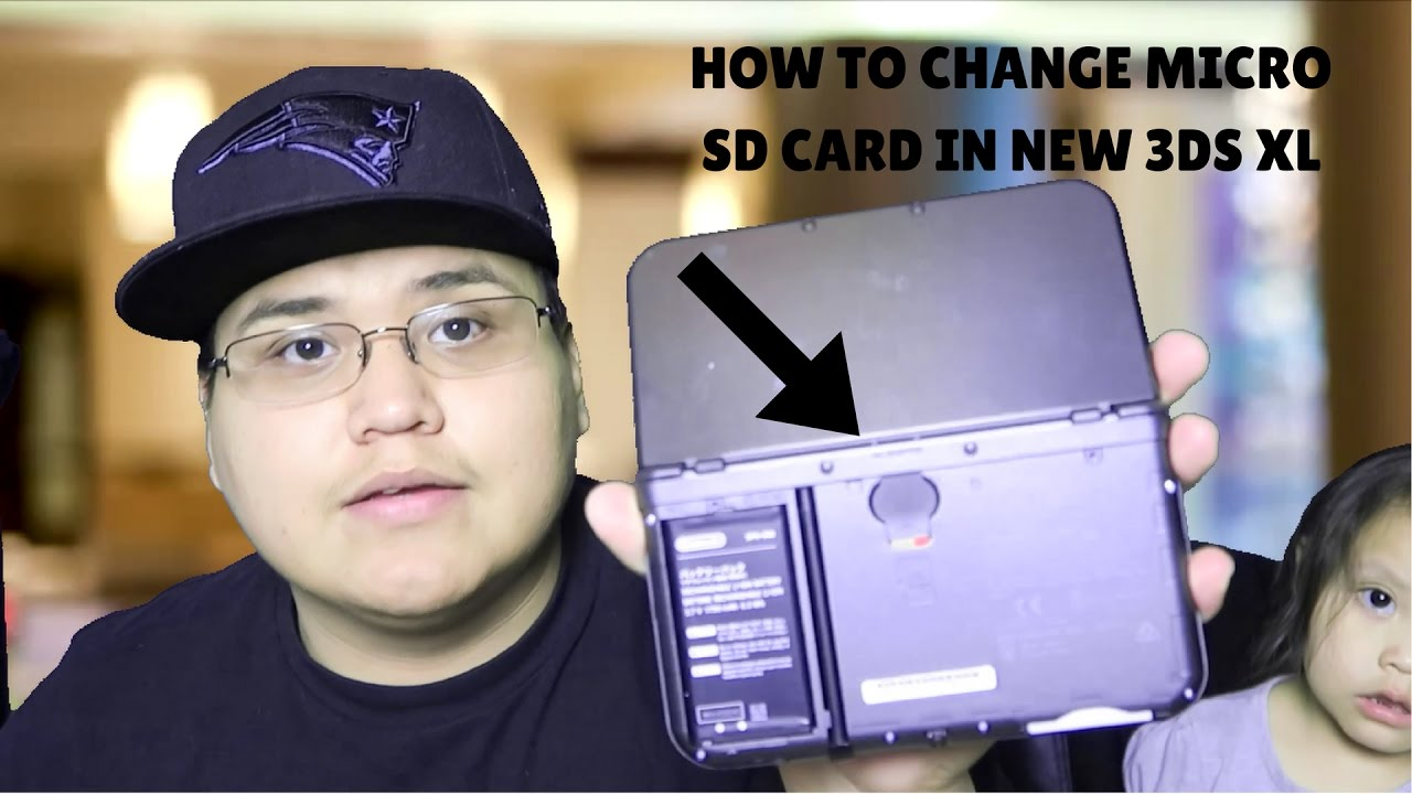 How To Change Micro SD Card In NEW Nintendo 3DS XL - YouTube