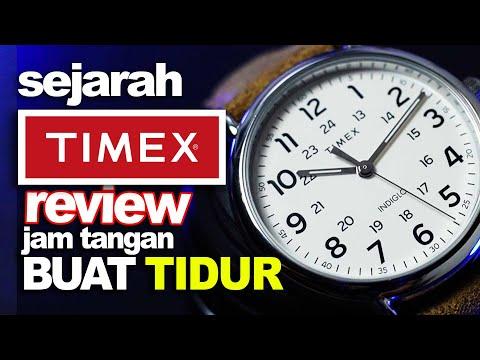 SEJARAH PANJANG TIMEX ‼️ Review Jam Tangan BUAT TIDUR : Indiglo Weekender