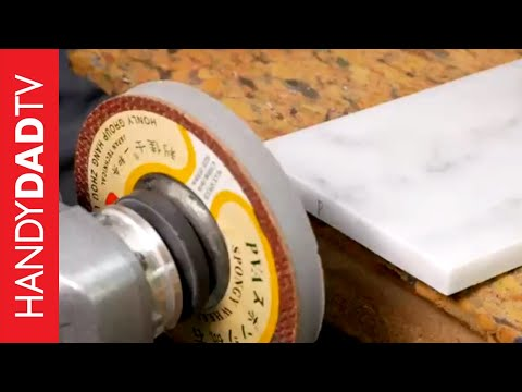 How to Polish Marble Tile Edges