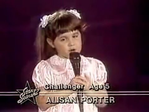 ALISAN PORTER - OVER THE RAINBOW (Star Search 80s)
