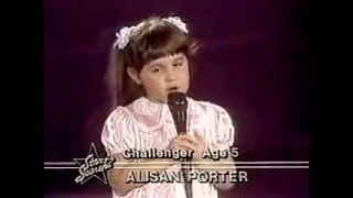 ALISAN PORTER - OVER THE RAINBOW (Star Search 80s)