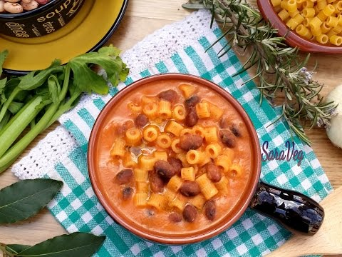 Pasta and bean soup!  How to Make Pasta and Fagioli