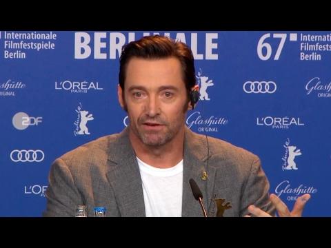 Logan - World Premiere Press Conference (2017) Wolverine Hugh Jackman Patrick Stewart