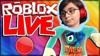 PER LA PRIMA TEMPO LEGENDA ROBLOX !?! LIVE BROADCAST 😱 - Roblox