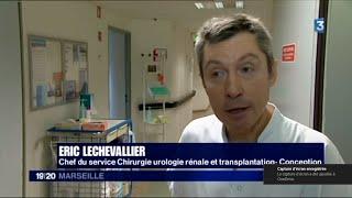 Reportage sur les calculs rénaux à l'hôpital de la Conception à Marseille