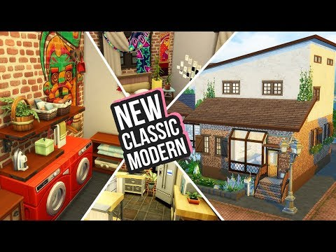 A Brand New Start: Classic Modern Home | Laundry Day Stuff Pack Build