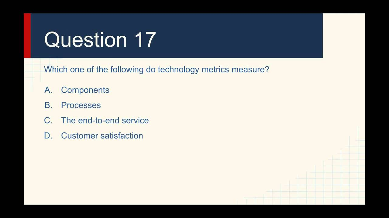 Itil Foundation Practice Exam Questions 2 Youtube