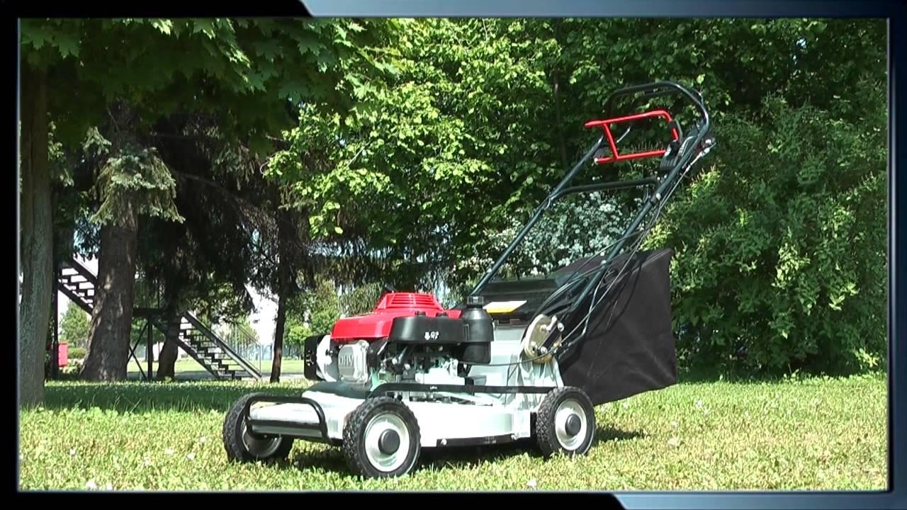rasenm her 753 pro 53cm alu honda motor lawnboss youtube. Black Bedroom Furniture Sets. Home Design Ideas