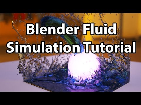 Blender Tutorial - Everything You NEED to Know About Fluid Simulation!