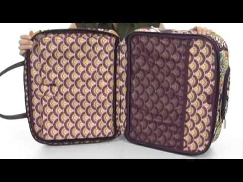 81e743e8f0 Vera Bradley Luggage Rolling Work Bag SKU  8160895 - YouTube