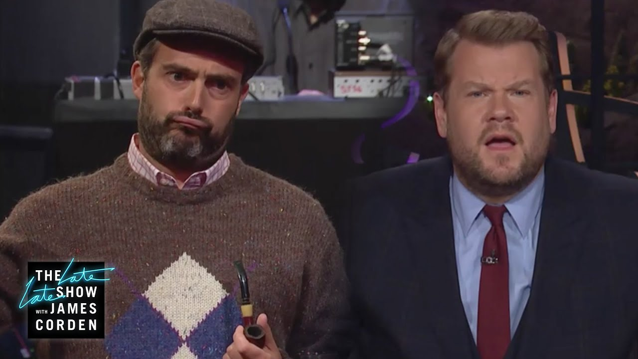 James Corden Has a New Father Now