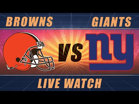 Cleveland Browns Vs New York Giants Live Stream