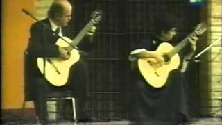 Scarlatti: Sonata K. 159 C Major /  L.104 - Evangelos & Liza