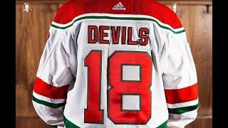 Devils start breaking in Heritage jersey gear