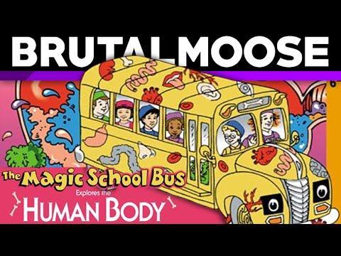 The Magic School Bus Explores the Human Body - brutalmoose
