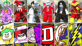 All Special Graffiti Art W/ DLC Characters in LEGO DC Super-Villains