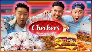 Is CHECKER'S & RALLY'S Fast Food's BEST KEPT SECRET?! (ENTIRE MENU)