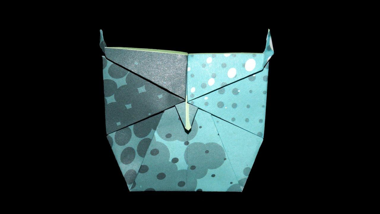 origami eule faltanleitung live erkl rt youtube. Black Bedroom Furniture Sets. Home Design Ideas