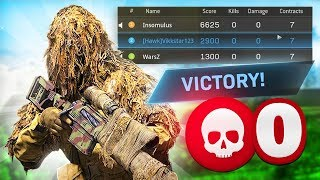WINNING with NO KILLS in CoD WARZONE!