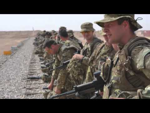 1st Battalion Scots Guards Video Diary Part I