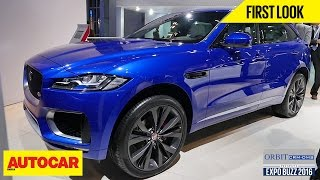 Jaguar F-Pace | First Look | Autocar India | Presented By Orbit