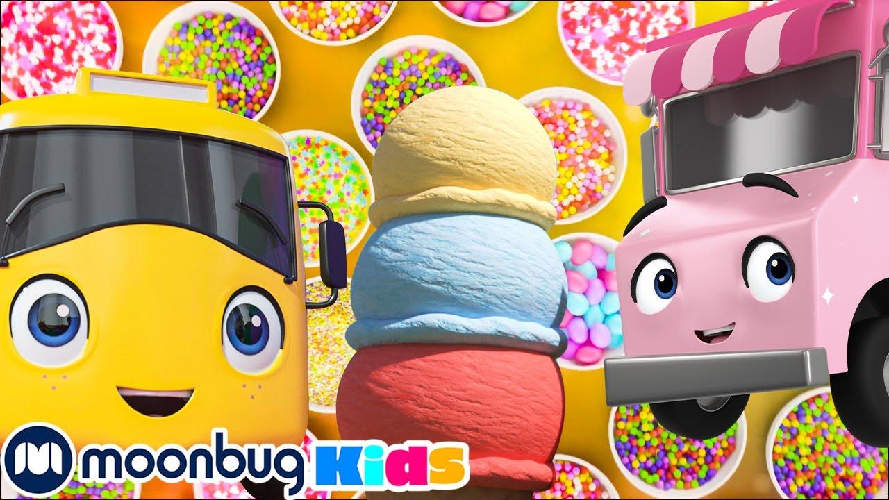 We Love Ice Cream   Go Buster!   Kids Songs   Nursery Rhymes   Sleep Baby Songs