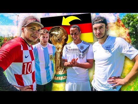 Epische Deutschland WM Tore Fußball Challenge!