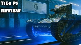 world Of Tanks - T1E6 PS PREMIUM RARE!!