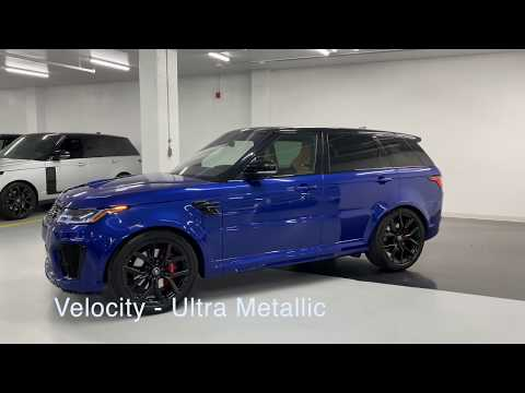 2019 Range Rover Sport SVR - Revs + Walkaround 4K