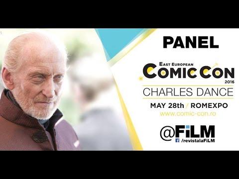 East European Comic Con 2016 - Charles Dance