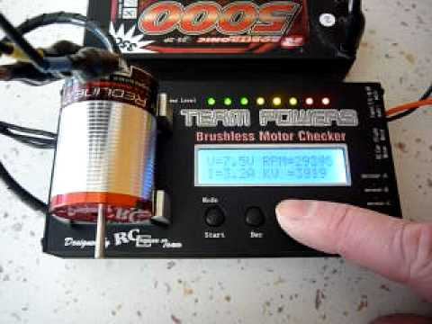 tekin 10 5 brushless motor on test youtube