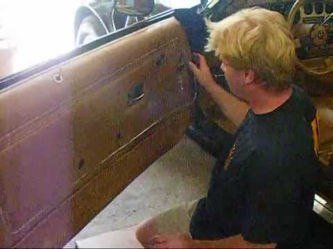 """How To"" Install New Replacement Door Panels on 1970 ..."