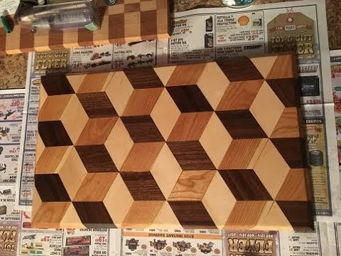 How To Make A 3d Cutting Board