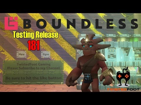 Testing Release 181 | Boundless PC Gameplay Let's Play