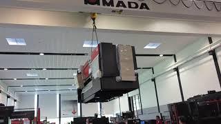 HRB-1003ATC Ankunft im AMADA Solution Center Haan