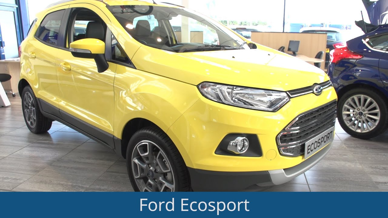 ford ecosport 2016 review youtube. Black Bedroom Furniture Sets. Home Design Ideas