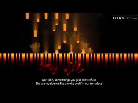 Post Malone, Swae Lee - Sunflower - Piano Karaoke / Sing Along Cover With Lyrics