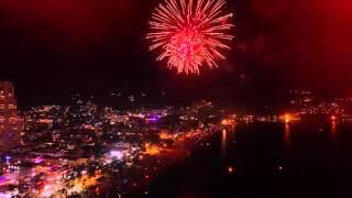 Aastavahetus Patong Beachil 2015/2016 (4K Droonivideo)