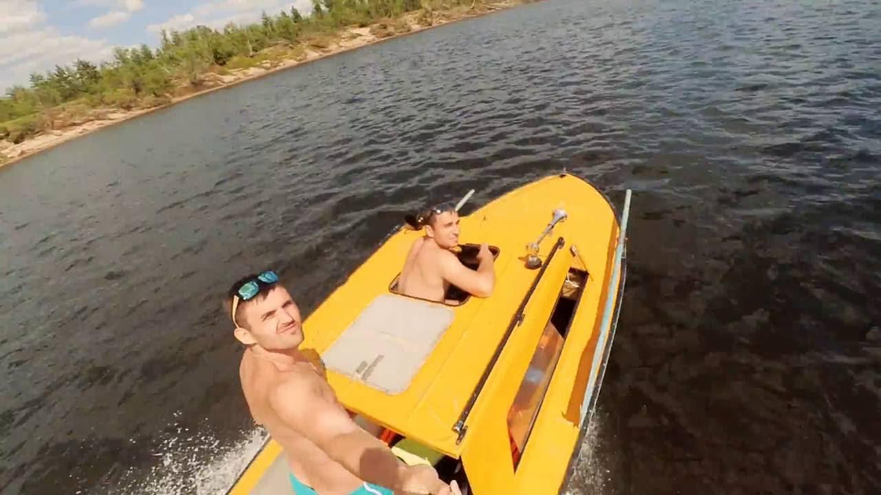 Моторная лодка «Обь-1» - видео обзор - YouTube